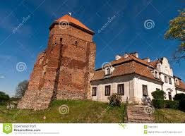 small castle in poland stock image image of cathedral 19857563