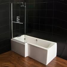 qualitex plexicor elegancia shower bath front panel and screen