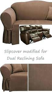 reclining sofa slipcover for slipcover for recliner couch