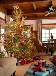 decorating trees traditional home