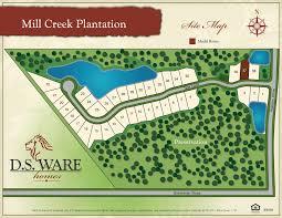 plantation homes floor plans new homes st johns county mill creek plantation