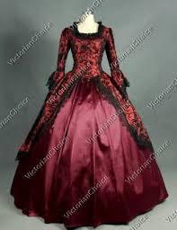 Ball Gown Halloween Costumes Renaissance Gothic Dark Queen Dress Ball Gown Steampunk Vampire