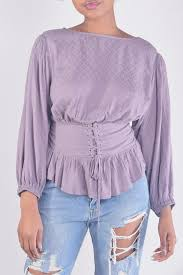 corset blouse illa illa modern corset blouse from los angeles by