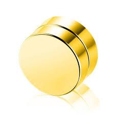 magnetic gold stud earrings gagafeel magnetic stud earrings for men fashion stainless