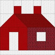 pattern block house template 1809 best houses images on pinterest house quilts little houses