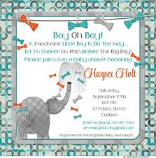bow tie baby shower invitations bow tie elephant baby shower invitations thank you cards