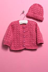 crochet baby sweater pattern free crochet pattern for a baby sweater and hat knitting bee