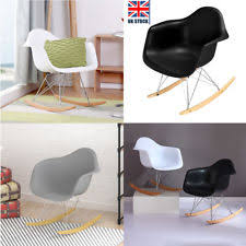 Eames Inspired Rocking Chair Eames Rocking Chair Charles Eames Chairs Ebay