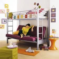 lit en hauteur avec canapé lit mezzanine banquette maison design wiblia com