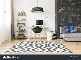 shot elegant student room big blackboard stock photo 467007011