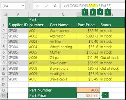 How To Create A Lookup Table In Excel Vlookup Function Office Support