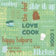 karen foster design in the kitchen collection 12 x 12 paper