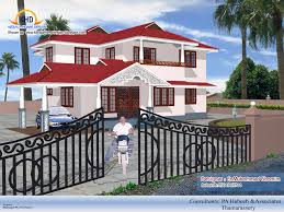 Kerala Home Design Blogspot Com 2009 by Latest Home Design 4 Beautiful Home Elevation Designs In 3d