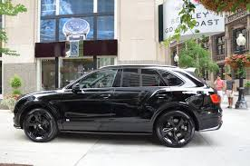 black bentley 2018 bentley bentayga black edition stock b960 for sale near