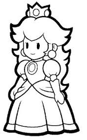 mario characters coloring page free download
