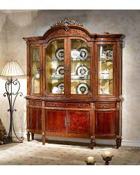 Dining Room Display Cabinet Infinity Furniture Classic Display Cabinet Louis Xvi Inlv751 4