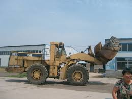 used cat wheel loader 988f from shanghai yangsong construction