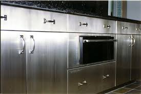 modern kitchen cabinets metal stainless steel cabinets
