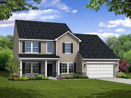 Single Family Home Virginian Floor Plan In Hyett U0027s Crossing Single Family Homes