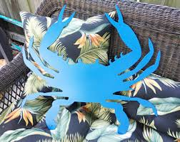 Crab Decorations For Home Crab Decor Etsy