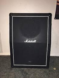 marshall 2x12 vertical slant guitar cabinet marshall 2x12 vertical slant cabinet reverb