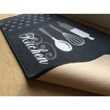 tapis de cuisine et gris tapis cuisine au metre la redoute