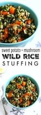 healthy thanksgiving stuffing sweet potato wild rice stuffing the pretty bee
