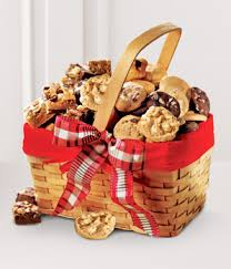 mrs fields snack size sler basket at from you flowers