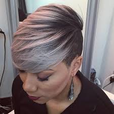 35 short weave hairstyles you can easily copy gray balayage