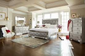Platform Bed Value City The Angelina Collection Metallic Value City Furniture