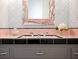 Pink And Brown Bathroom Ideas Bathroom Pink Bathroom Ideas Reasons To Retro Tiled
