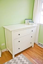 Ikea Hemnes Changing Table 20 Weeks Rearranged Baby Kerf