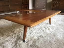 Boomerang Coffee Table Mid Century Modern Acclaim Walnut Boomerang Coffee Table Epoch