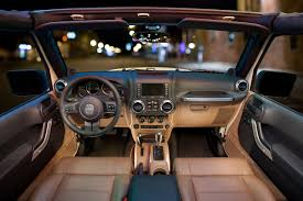 luxury jeep interior the new jeep interior quite the change from the 92 i had years
