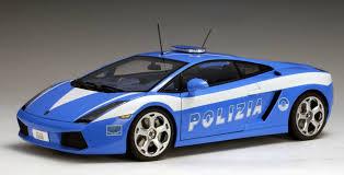 Lamborghini Gallardo Models - autoart lamborghini gallardo police car 74576 in 1 18 scale