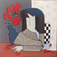 The Blue Vase Ellen Shire Saatchi Art
