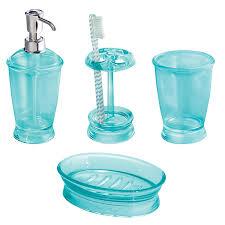 amazon com interdesign franklin bath accessory set soap