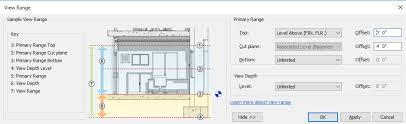 revit tutorial view range revit users revit users