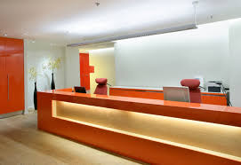 fancy commercial building interior design decor with additional