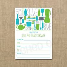 stock the bar shower instant bake and shake couples shower invitation fill