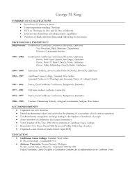 Resume With Community Service Job Job Descriptions For Resume