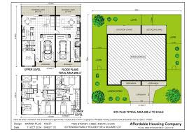 multi family house plans triplex astounding multi family living house plans images best idea home