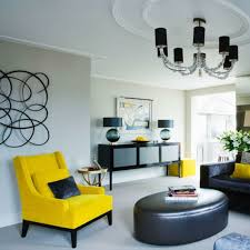 Grey And Yellow Chair 40 Living Room Chair With Cool Look That Clearly Stand Out In The