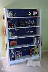 Blue Bookcases Stop Everything These Bookshelf Redos Are Ah Mazing Hometalk