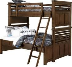 Rooms To Go Kids Loft Bed by Best 25 Twin Full Bunk Bed Ideas On Pinterest Full Bunk Beds