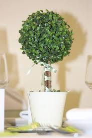 decorating artificial topiary trees for patio decor