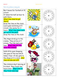 time word problems by thewolfe teaching resources tes