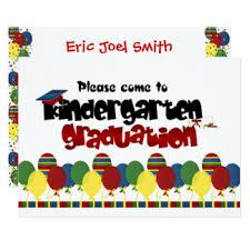 kindergarten graduation invitations kindergarten graduation invitations announcements zazzle