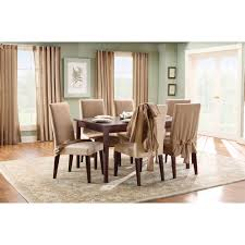 blue dining room chair slipcovers beautiful dining room chair