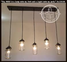 5 Jar Chandelier Jar Chandelier Light Rectangular With Vintage The L Goods
